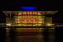 Théatre de l'$opéra de Copenhague Images stock