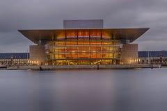 Théatre de l'opéra de Copenhague Images libres de droits