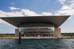 Théatre de l'opéra de Copenhague image stock