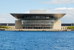Théatre de l'$opéra de Copenhague Photo stock