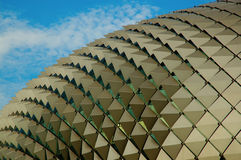 Théatre de l'$opéra de durian à Singapour Photo stock