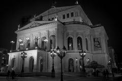 Théatre de l'opéra de Francfort Photo stock