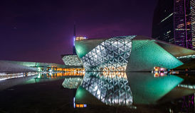 Théatre de l'opéra de Guangzhou Photos stock
