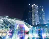 Théatre de l'opéra de Guangzhou en Chine Photos stock