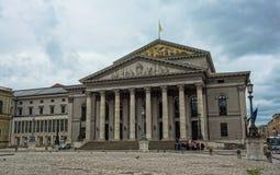 Théatre de l'opéra de Munich, Allemagne Images libres de droits