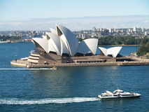 Théatre de l'$opéra de Sydney Images libres de droits