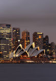 Théatre de l'$opéra de Sydney photo libre de droits