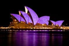 Théatre de l'$opéra de Sydney - 20 janvier 2010 Photos stock