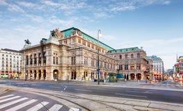 Théatre de l'opéra de Vienne, Autriche image libre de droits
