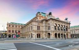 Théatre de l'opéra de Vienne, Autriche photographie stock