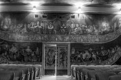 Théatre de l'opéra et hôtel d'Amargosa Image libre de droits