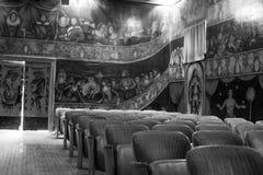 Théatre de l'opéra et hôtel d'Amargosa Images libres de droits