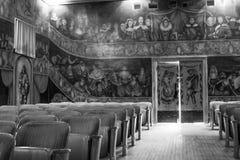 Théatre de l'opéra et hôtel d'Amargosa Photographie stock libre de droits