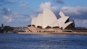 Théatre de l'$opéra Habour de Sydney en Australie Photo libre de droits
