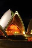 Théatre de l'$opéra Hall de Sydney Photos stock