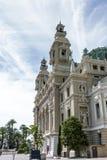 Théatre de l'opéra, Monte Carlo Images libres de droits