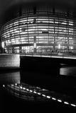 Théatre de l'$opéra neuf à Copenhague Photos stock