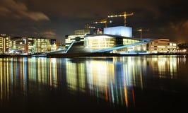 Théatre de l'$opéra, Oslo Photos stock