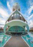 Théatre de l'opéra, Palaos de les Arts Reina Sofia à Valence, Espagne Photographie stock libre de droits