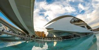 Théatre de l'opéra, Palaos de les Arts Reina Sofia à Valence, Espagne Photo libre de droits