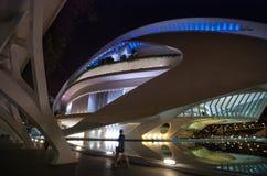 Théatre de l'opéra, Palaos de les Arts Reina Sofia à Valence, Espagne Photos libres de droits