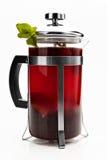 Théière avec le thé image libre de droits