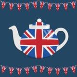 Théière britannique Images stock