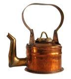 Théière de cuivre antique photos stock
