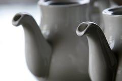 Théière de porcelaine photo libre de droits