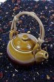 Théière de thé Images stock