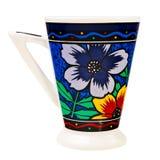 Théière en céramique colorée. Images stock