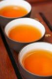Théière et tasse chinoises Photographie stock