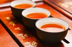 Théière et tasse chinoises Image libre de droits