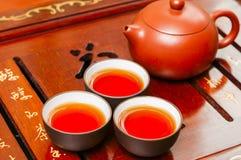 Théière et tasse chinoises Photos stock