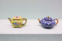 Théière impériale de porcelaine photos libres de droits