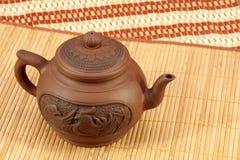Théière pour la préparation de thé Image stock