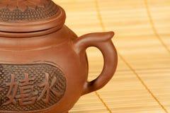 Théière pour la préparation de thé Photos libres de droits