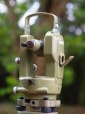 Théodolite astronomique pour l'examen Photographie stock libre de droits