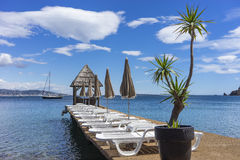 Théoule sur mer, France. Royalty Free Stock Photography