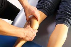 Thérapeute de massage Photo stock