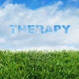 thérapie Photos stock