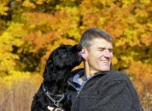 Thérapie d'animal familier Photos stock