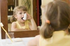 thérapie d'inhalation Photo libre de droits