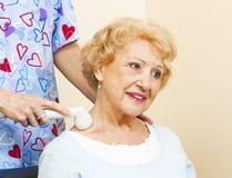 Thérapie d'ultrason Photo libre de droits