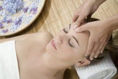 Thérapie de massage Photographie stock libre de droits