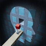 Thérapie de psychologie illustration stock