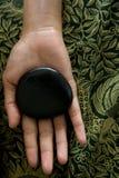Thérapie en pierre chaude Photographie stock libre de droits