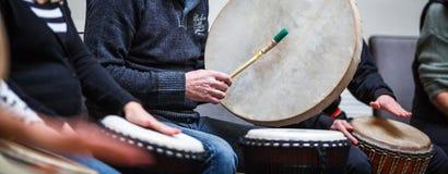 Thérapie par la musique Images libres de droits