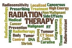 Thérapie radiologique Photo stock