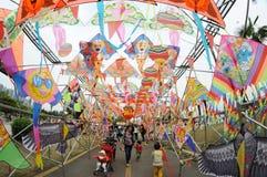 2013多国际风筝节日 库存图片